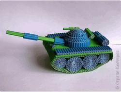 Поделка танка своими руками