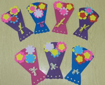 Раскраски букета цветов
