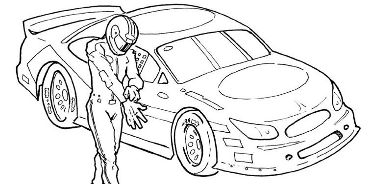 Флеш раскраски машины для мальчиков