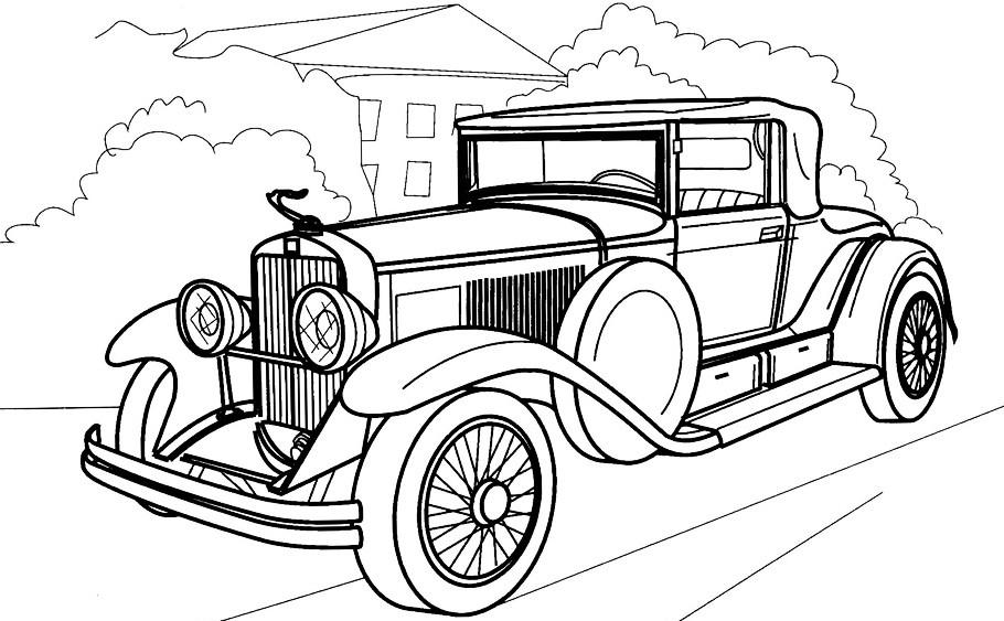 Картинки раскраска грузовая машина для малышей / picpool.ru