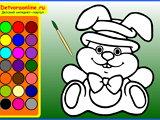 Раскраски онлайн для детей 5 6 лет - 8