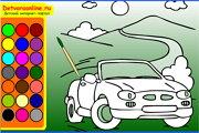 онлайн раскраски для мальчиков 4 лет
