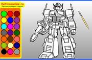 Раскраски онлайн трансформеры